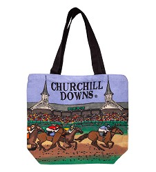 Churchill Downs Shopper Tote Bag