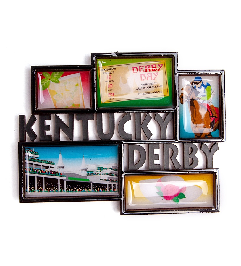 Kentucky Derby Boxes Magnet,TDS109-29783
