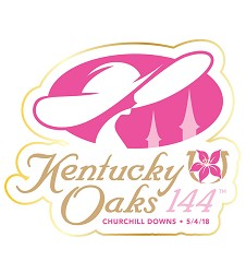 Kentucky Oaks 144 Event Logo Lapel Pin