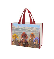 2018 Art of the Derby Tote Bag,Kentucky Derby 144-2018 Art of the Derby,AOTD TOTE 16X14.5X6