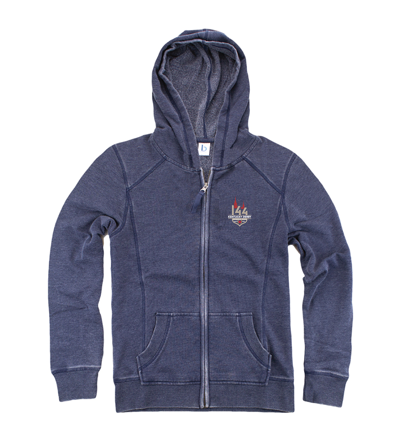 K entucky Derby 144 Homecoming Hoodie,V43N 144 LOGO