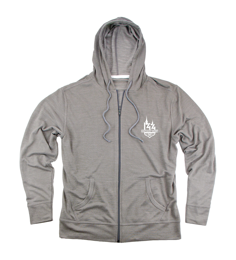 Kentucky Derby 144 Halftime Full-Zip Hoodie,R30RO 144 LOGO ROPE