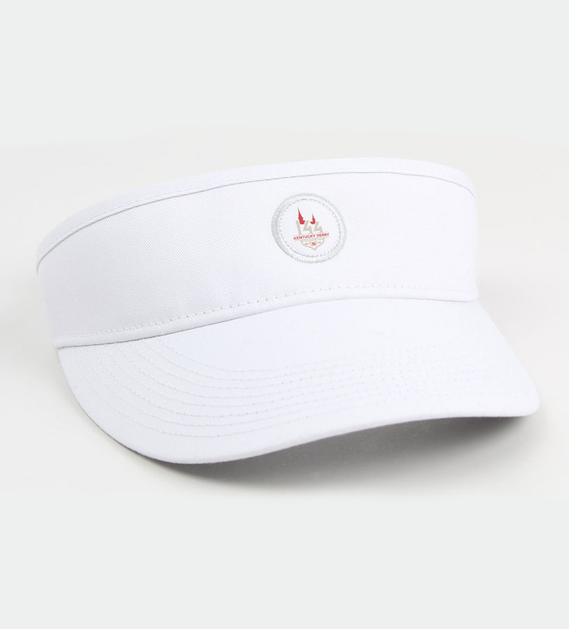 Kentucky Derby 144 Visor,C64WT4 144AH74 WHITE