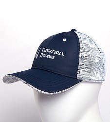 Churchill Downs Camoflage Mesh Back Cap