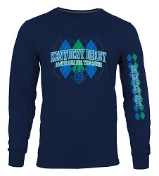 Kentucky Derby 144 Long-Sleeved Argyle Tee