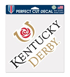 Perfect Cut Kentucky Derby Icon Decal