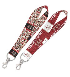 Kentucky Derby 144 Lanyard Keystap