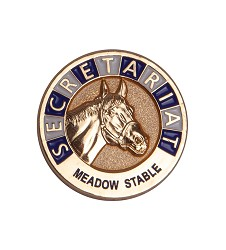 Secretariat Commemorative Lapel Pin