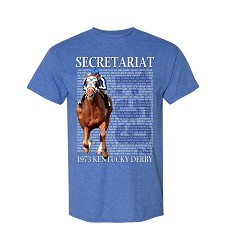 Secretariat Derby Call Design Tee