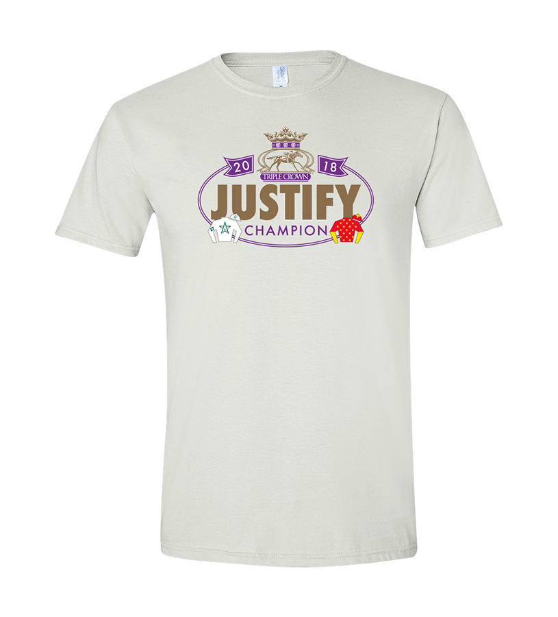Justify Triple Crown Banner Tee,JZ2TBW
