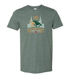 Kentucky Derby 145 Official Logo Tee
