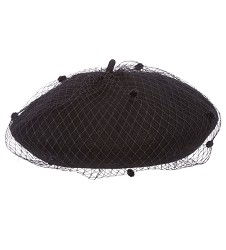 Ladies' Wool Netting Beret