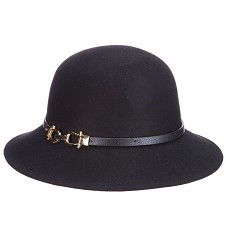 Ladies' Wide Brim Cloche