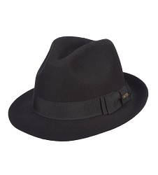 Men's Raw Edge Fedora