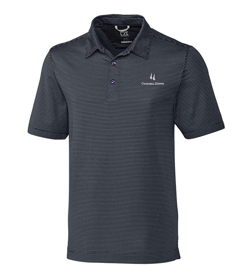 Churchill Downs Logo Prevail Polo,MCK00057-HTGREEN
