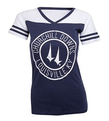 Churchill Downs Varsity Powder Puff Tee