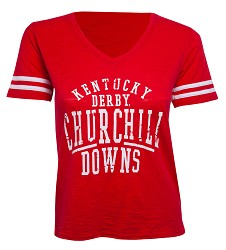 Churchill Downs Logo Sporty Slub Tee
