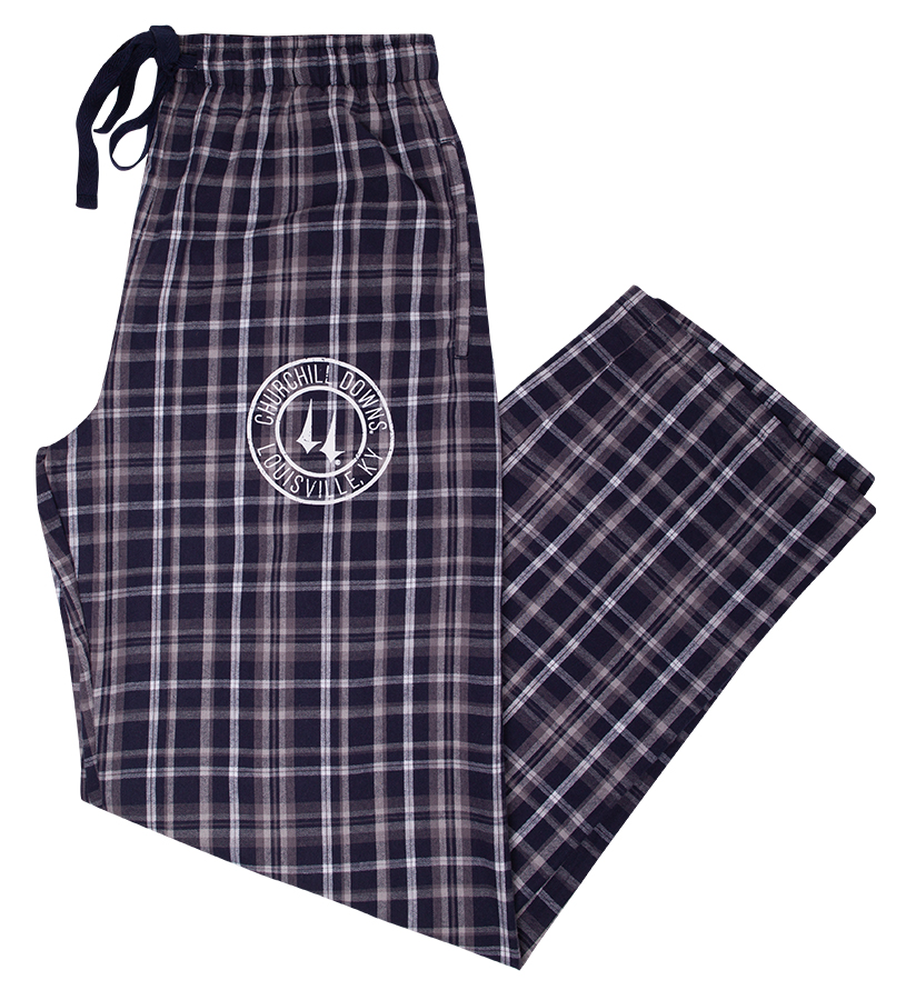 Churchill Downs Logo Flannel Pants,F20NWP-F17001
