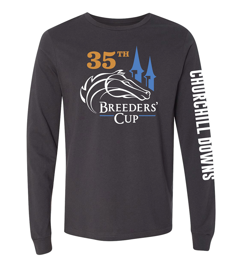 Breeders' Cup Official Churchill Long-Sleeved Tee,BC9477