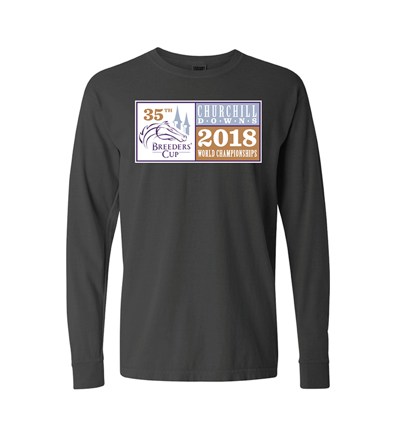 Breeders' Cup Event Logo Long-Sleeved Tee,BC9476