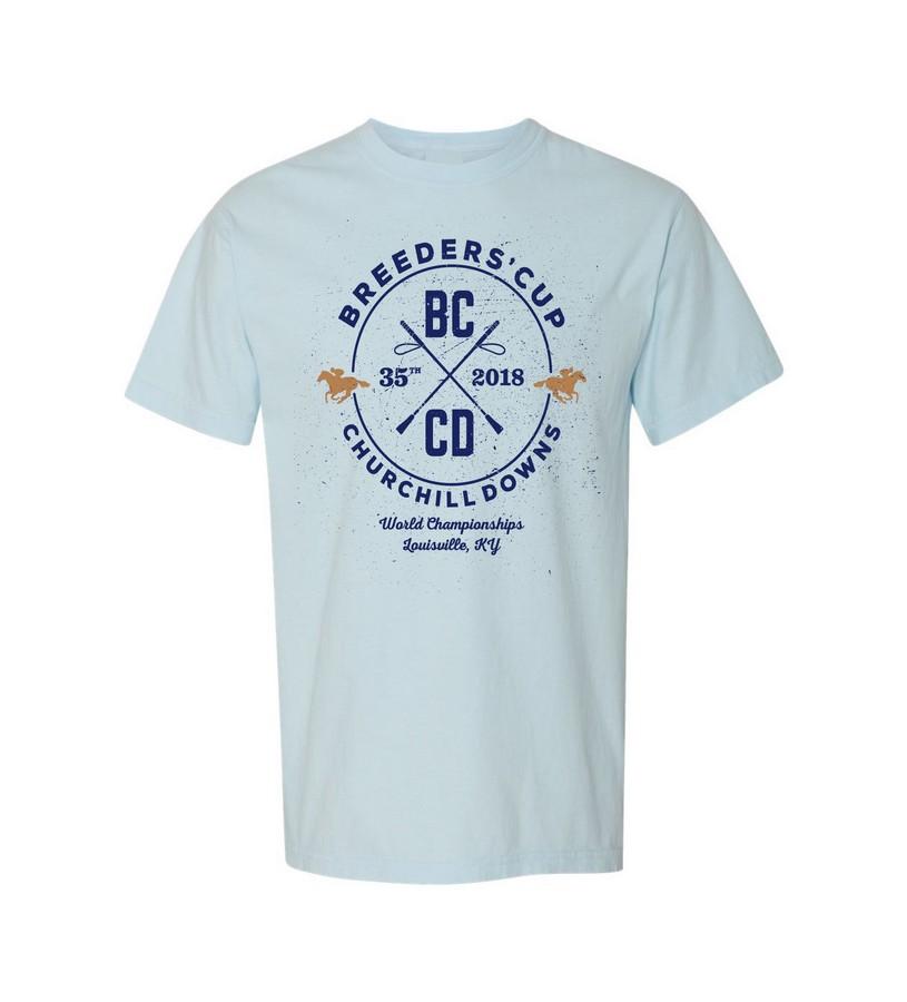 Breeders' Cup Cross Logo Tee,BC9462