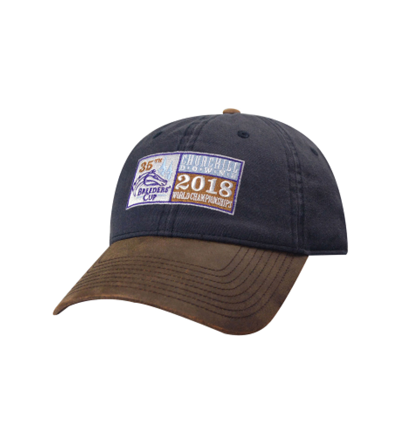 Breeders' Cup Oil Cloth Bill Hat,BC9279
