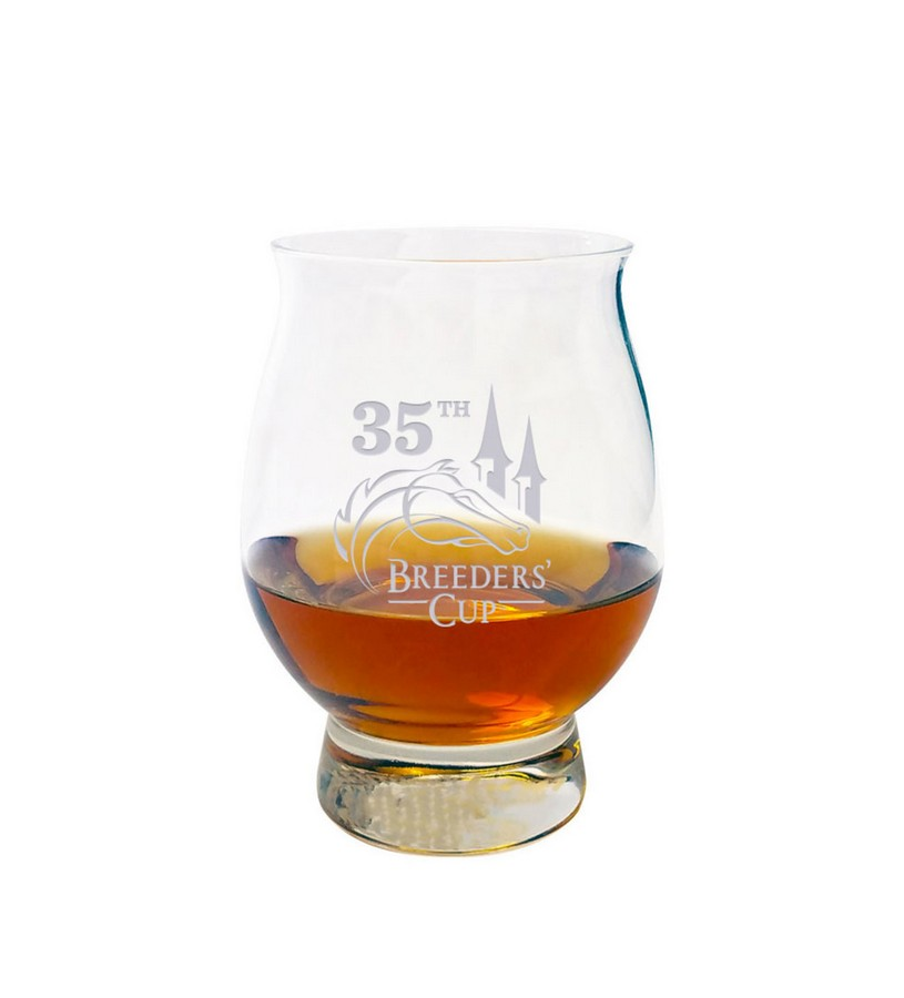 Breeders' Cup 2018 Official Bourbon Tasting Glass,BC2454