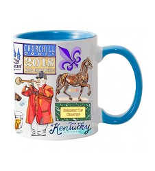 Breeders' Cup 2018 Graphic Mug,BC1063