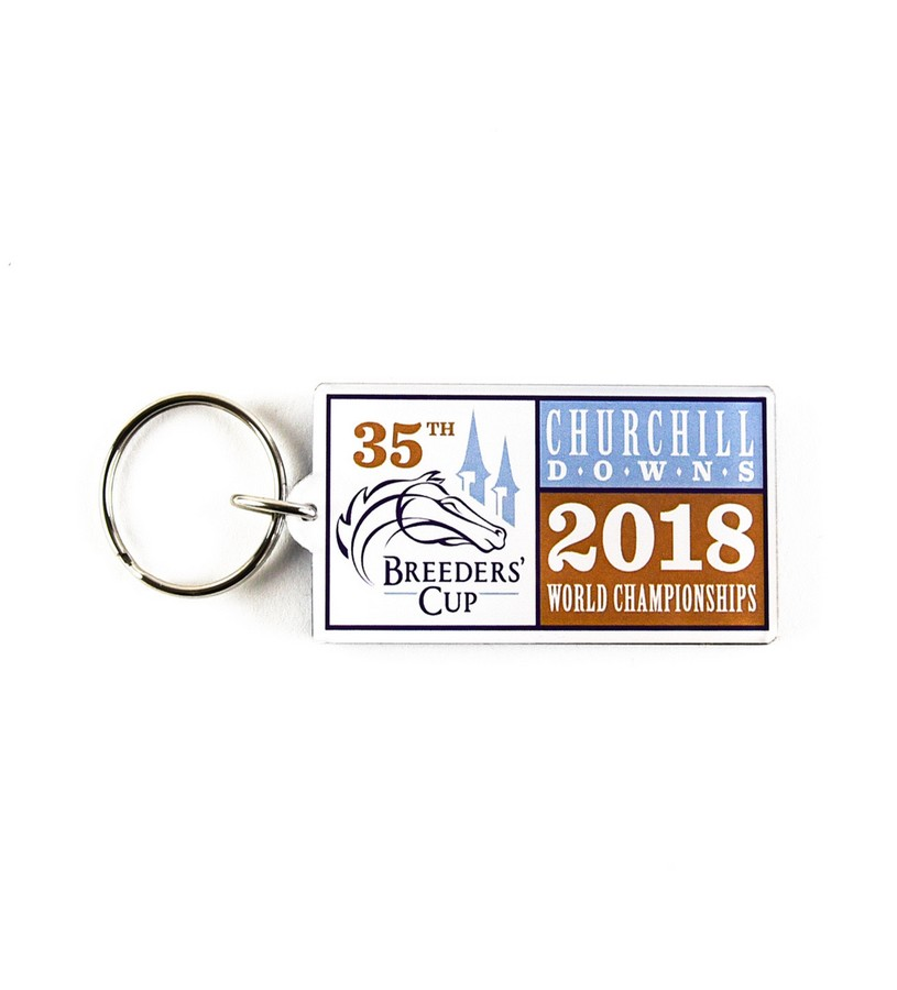 Breeders' Cup 2018 Event Keychain,BC7122