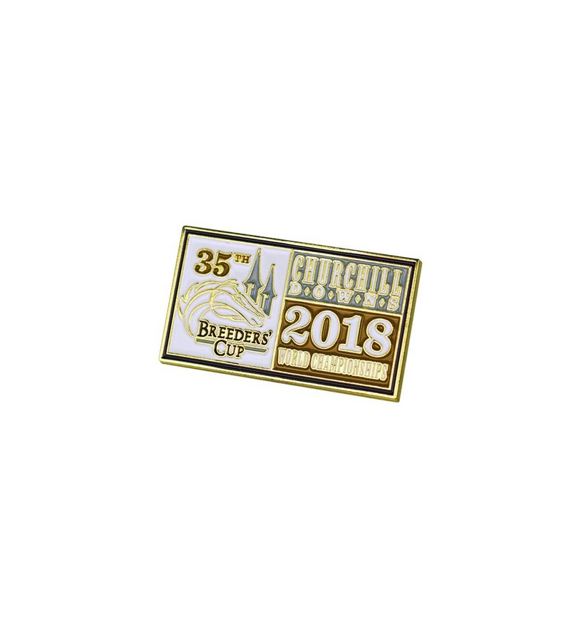 Breeders' Cup 2018 Event Lapel Pin,BC7111