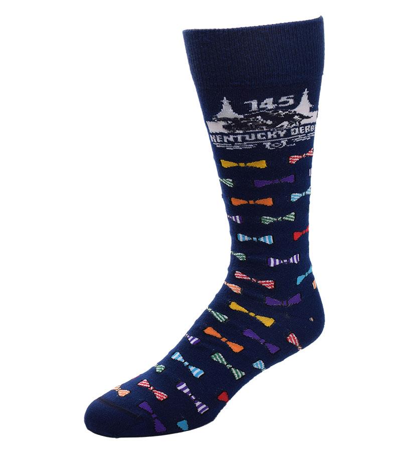 Kentucky Derby 145 Bowtie Socks,505-7 BOWTIES 145