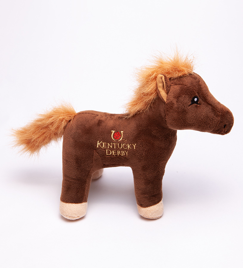 Kentucky Derby Icon Blanket Horse Plush,B10HREXHRSKYD19