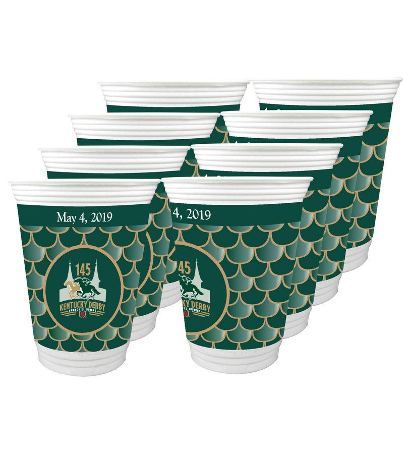 Kentucky Derby 145 Beverage Cups,#45460 16 OZ 8PK