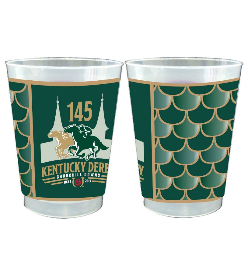 Kentucky Derby 145 Frosted Cups,#45425 10 OZ 25PK