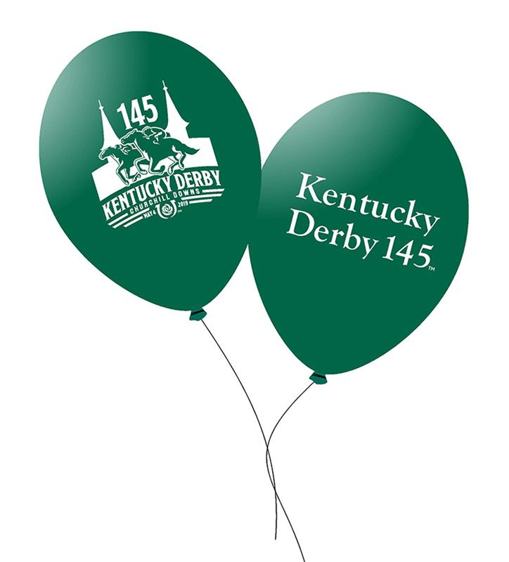 "Kentucky Derby 145 Balloons,#45526 11"" 10PK"