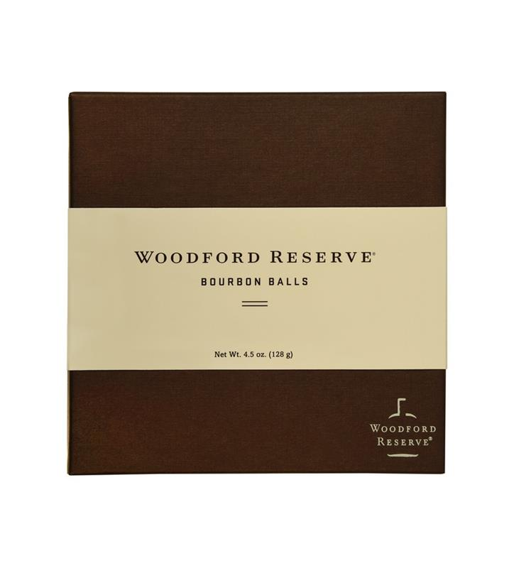 Nine-PieceWoodford Bourbon Balls by Ruth Hunt 4.5 oz,Chocolate & Mint,WR131 9 PC