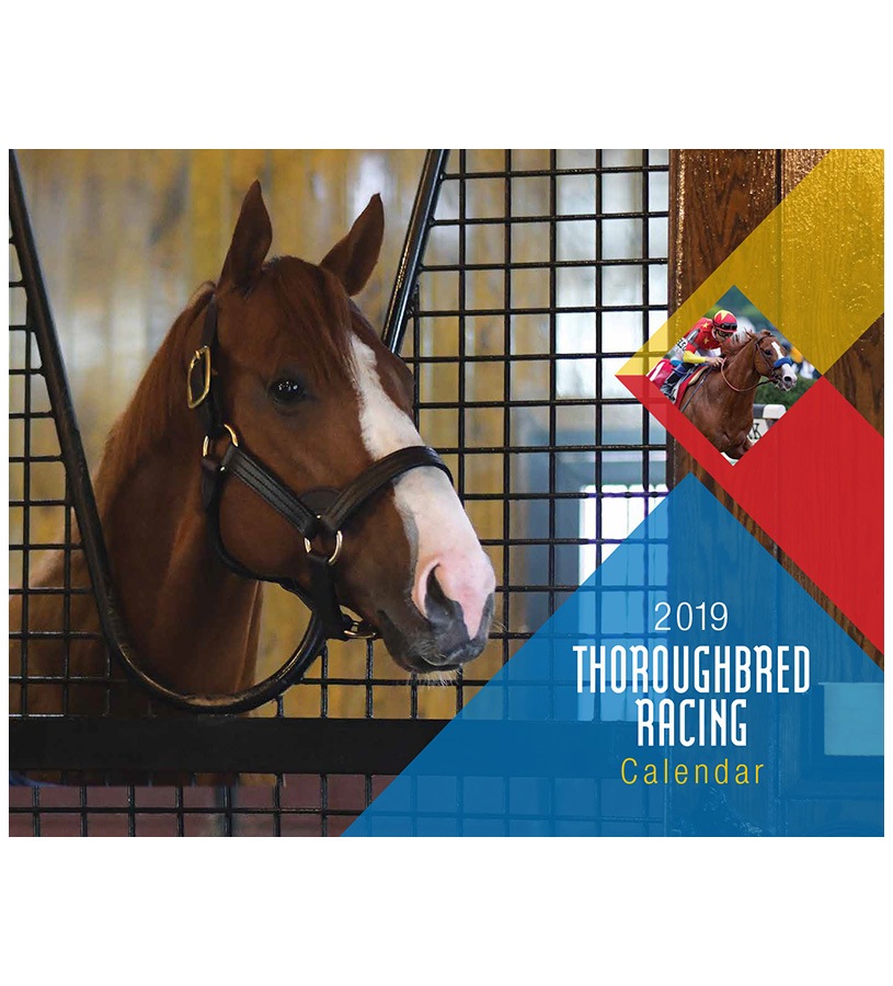 2019 Thoroughbred Horse Racing Calendar,2019 CALENDAR