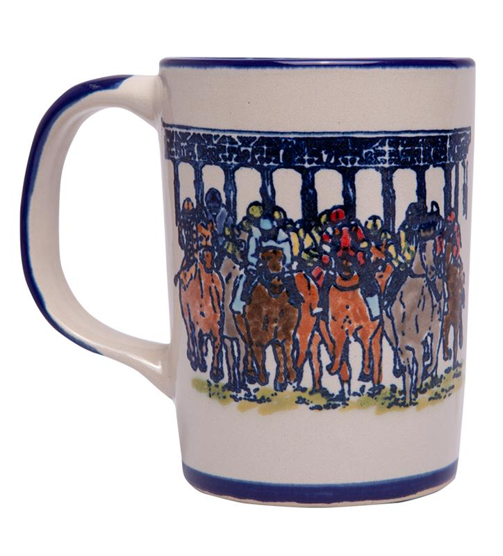 Pre-Order: Starting Gate Mug by Louisville Stoneware,STARTING MUG EX