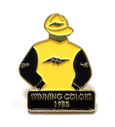 1988 Winning Colors Tac Pin