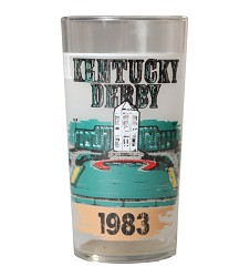 1983 Official Derby Glass