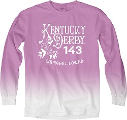Kentucky Derby 143 Tin Roof Ombre Tee,3ZXR OLLO ELECTRIC P