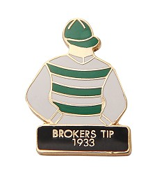 1933 Broker's Tip Tac Pin,1933