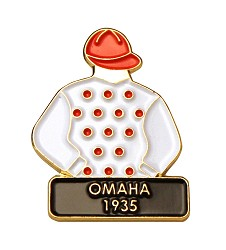 1935 Omaha Tac Pin,Winners Tac Pins-Triple Crown,1935