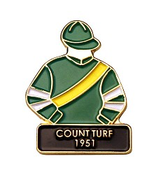 1951 Count Turf Tac Pin