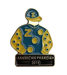 2015 American Pharoah Tac Pin,Winners Tac Pins-Triple Crown,2015