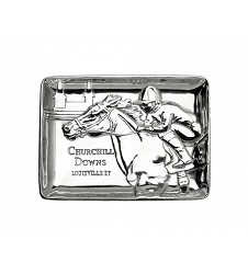 Churchill Downs Catch-All Tray by Arthur Court,18-0114 9X6.5 A