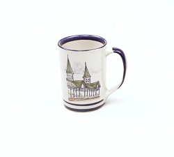 Churchill Downs Twin Spires Mug by Louisville Stoneware,SPRED003
