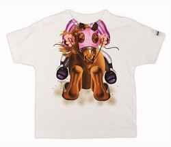 Girl's Horse and Jockey Tee 4T