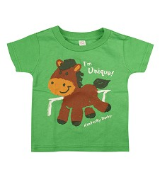Infant I'm Unique Tee Green 6M