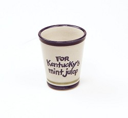 Kentucky's Mint Julep Cup by Louisville Stoneware,KYMJD010 9OZ